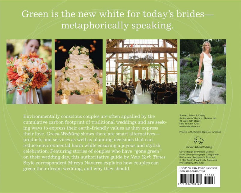 Back cover of Green Wedding